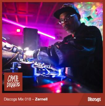 Discogs Mix 18- Zernell Gillie Grimy Edits