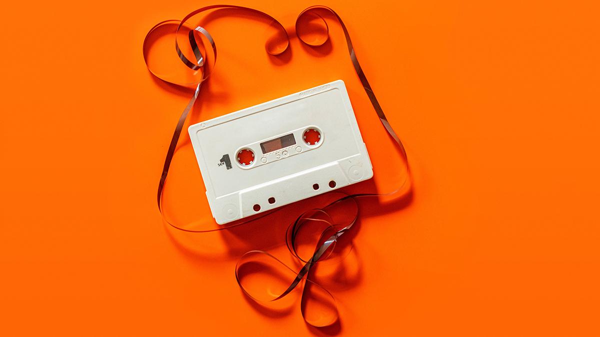cassette tape unravel