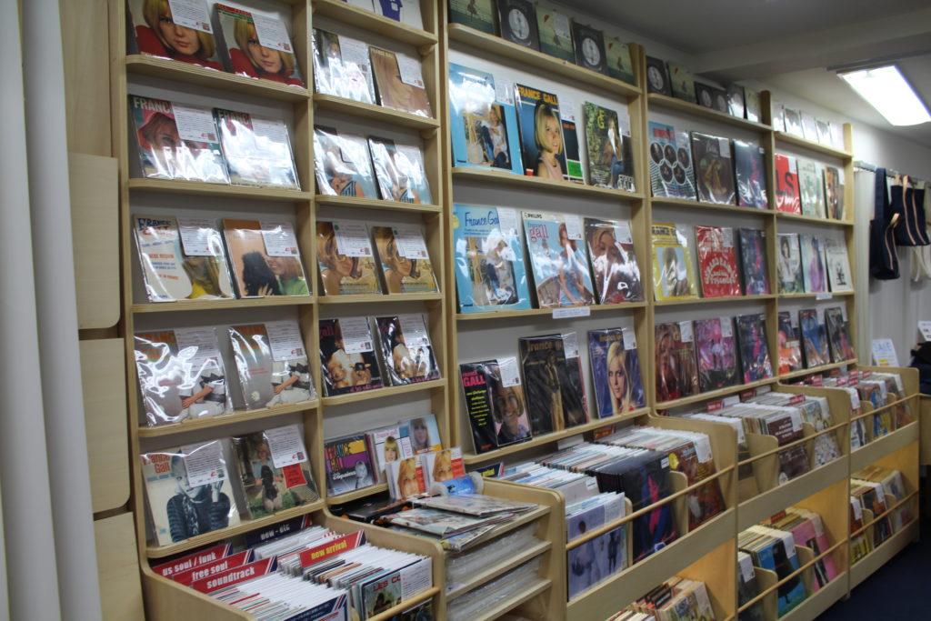 Record Shelves Dessinee Shop Tokyo