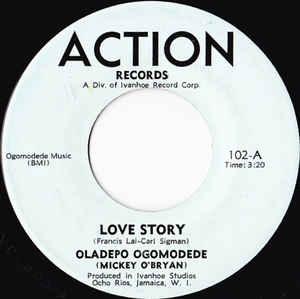 Large Pro's Favorite 45s: Oladepo Ogomodede (Mickey O'Bryan) - Love Story
