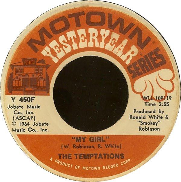 Favorite Motown Single My Girl