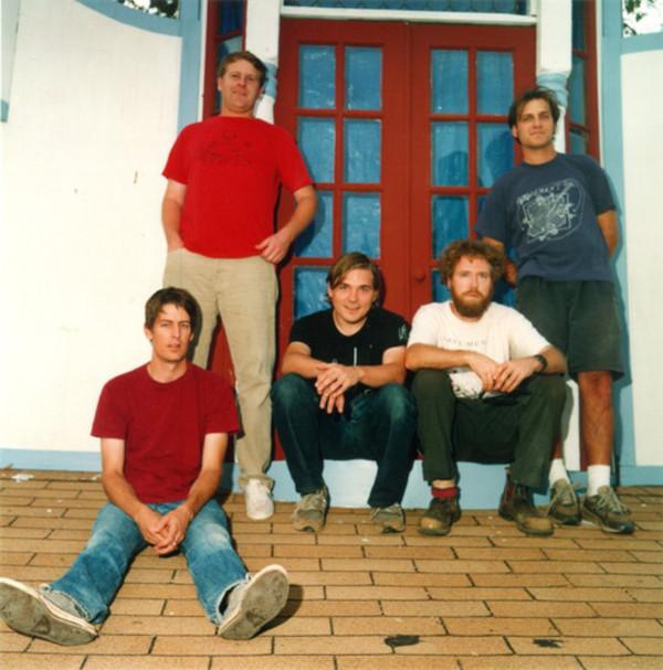 Pavement band group photo