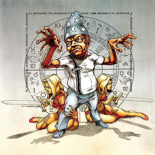 Best record of 97, R.L.Burnside - Mr. Wizard