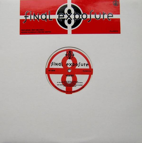 Final Exposure's Vortex album, as chosen by Tecture