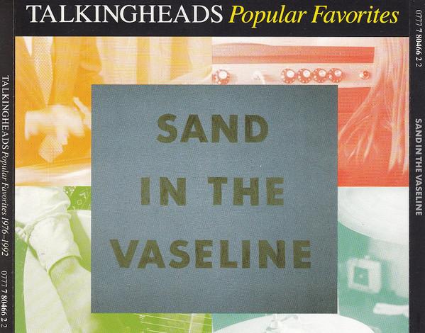 Discogs Summer anthems staff picks: Talking Heads - Sand In The Vaseline