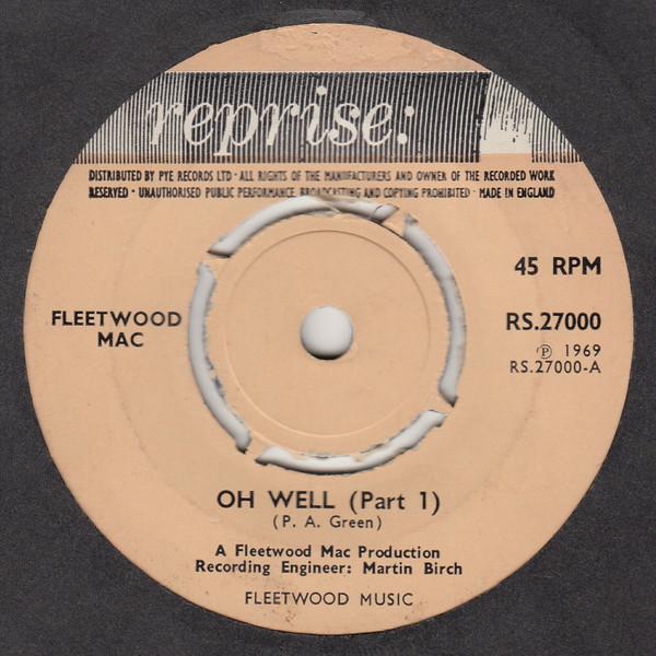 Fleetwood Mac Oh Well