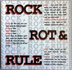 Simon Doom's selection section: Scharpling Wurster - Rock Rot & Rule
