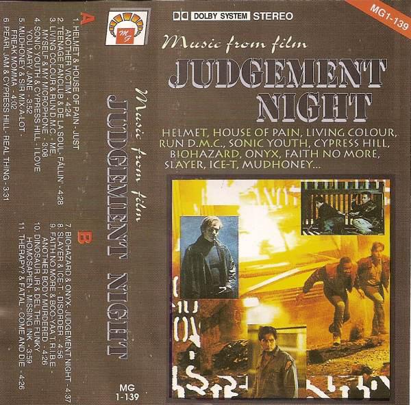 Simon Doom's selection section: Judgement Night Soundtrack