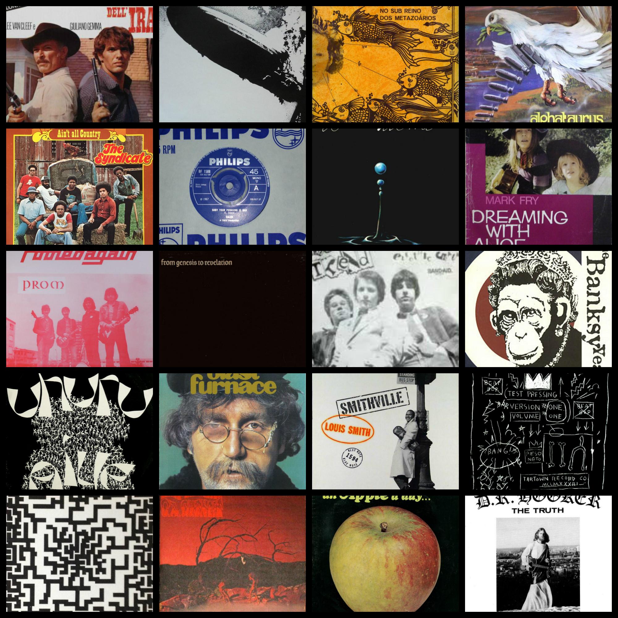 Discogs Top 30 Expensive June 2017