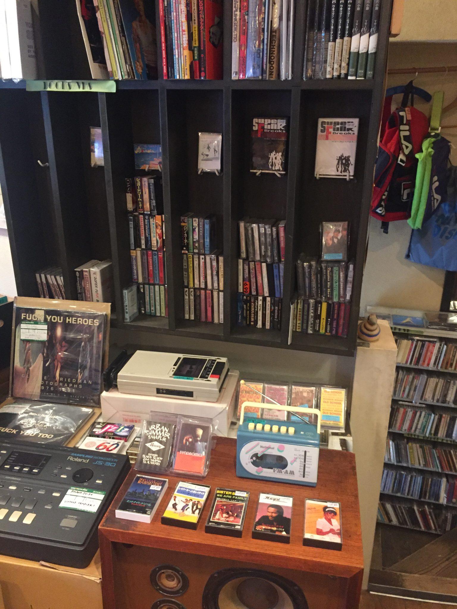 Tokyo record store Coconuts Disk Yoyogi