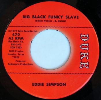 Crate Diggers Berlin features Kenny Dope's Top 10: Eddie Simpson – Big Black Funky Slave