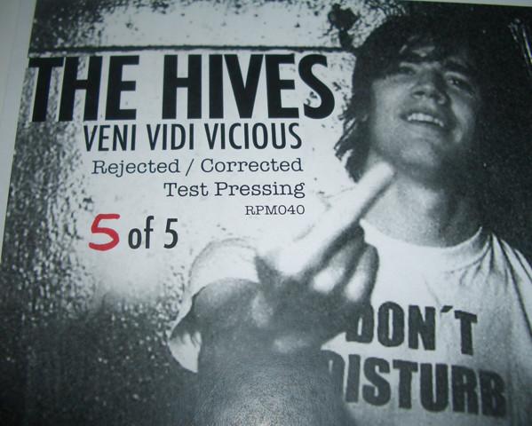 Mispressed records: The Hives - Veni Vidi Vicious