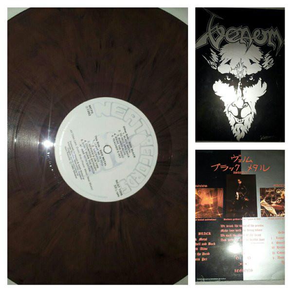Mispressed records: Venom - Black Metal