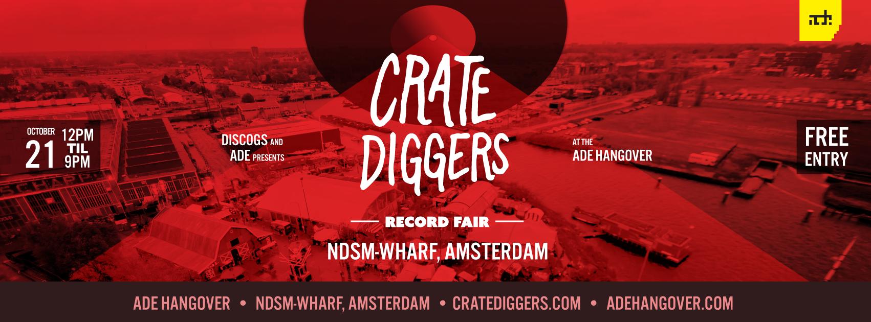 crate diggers amsterdam 2018 at ADE