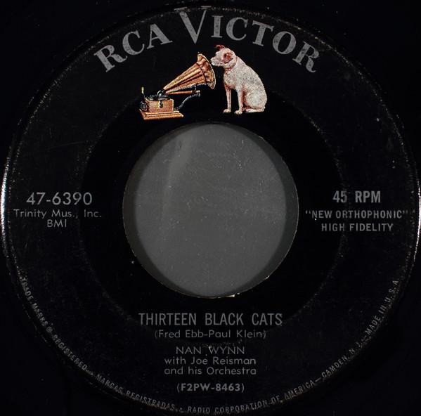 The Best Halloween records: Nan Wynn- Thirteen Black Cats