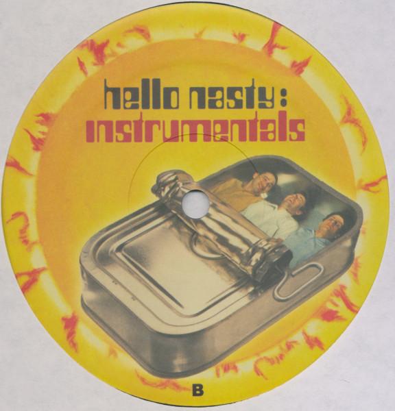 Wild Child's Favorite Records: Beastie Boys - Hello Nasty Instrumentals album cover