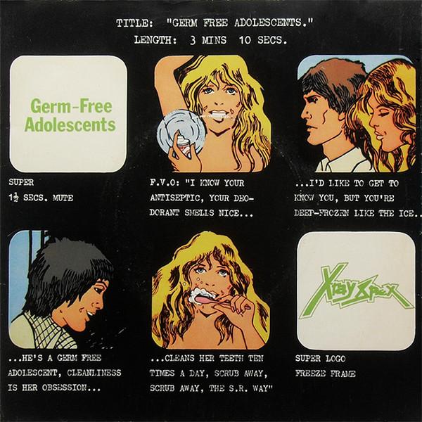 Courtney Barnett's Favorite Records: X-ray Spex - Germ Free Adolescents album cover