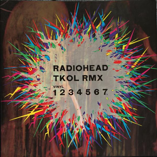 A Guide To The Most Rare Radiohead Releases: Radiohead - TKOL RMX 1234567 album cover