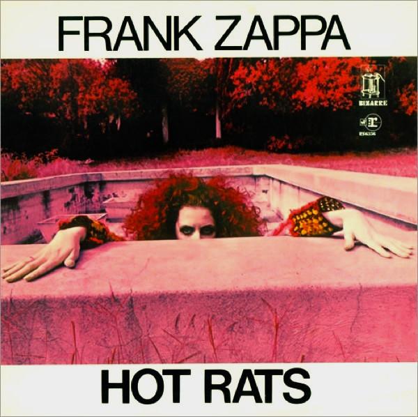 Unknown Mortal Orchestra's Favorite Records: Frank Zappa - Hot Rats album cover