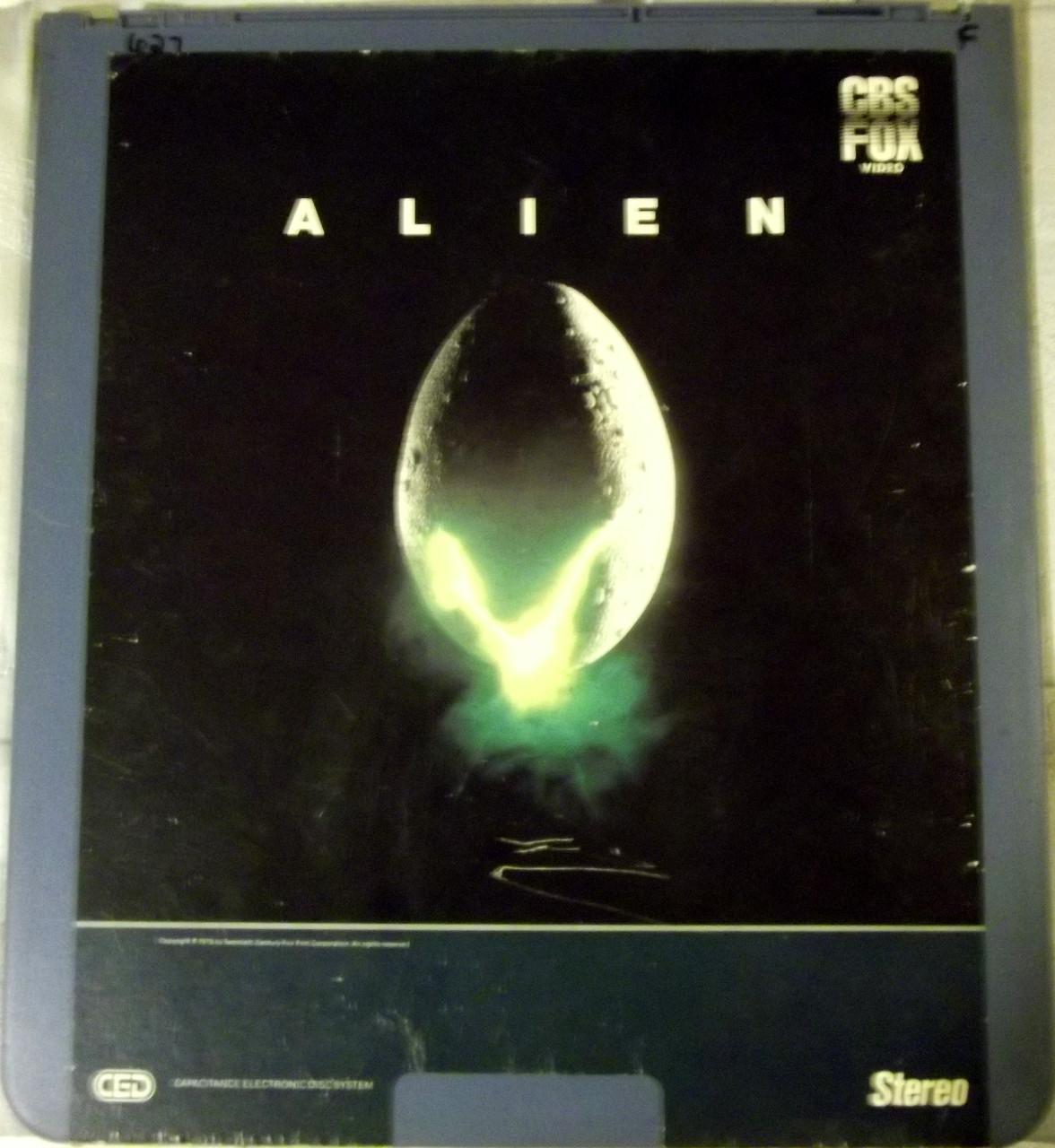 Alien CED: video on vinyl