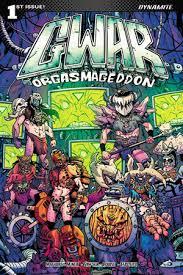 Bands in Comics: GWAR's crazy comic is described as Bill & Ted on bath salts