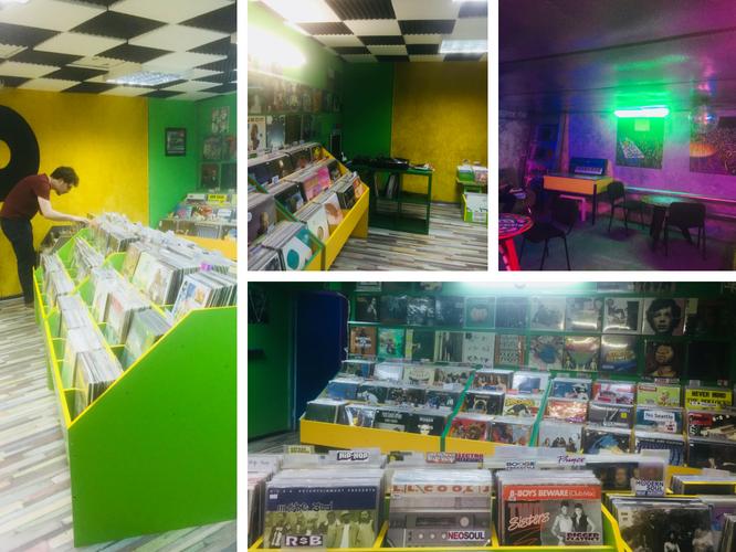 Diskultura True Record Vinyl Store in Kiev, Ukraine