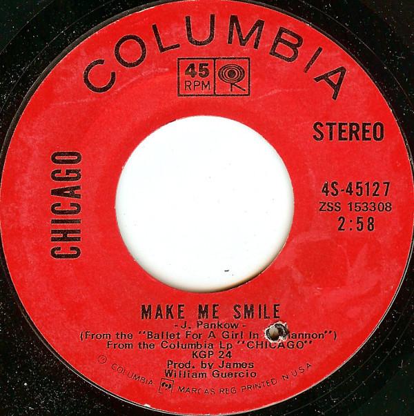 Chicago – Make Me Smile for sale