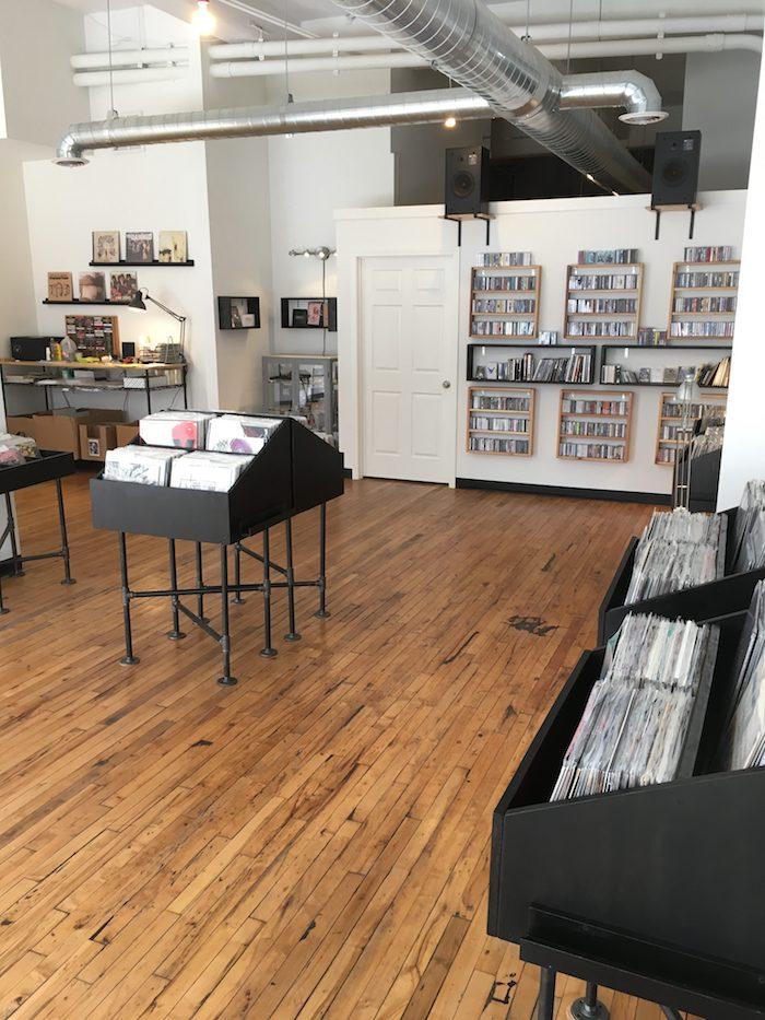 Skeleton Dust Reocrd Shop in Dayton, Ohio