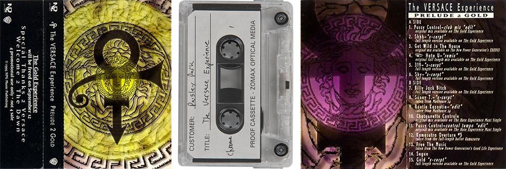 Prince - Versace Experience cassette