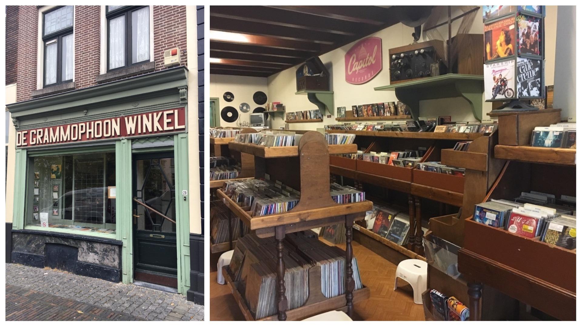 De Grammophoon Winkel Utrecht Record Shops