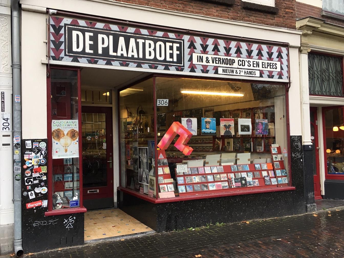 De Plaatboef Utrecht Record Shops