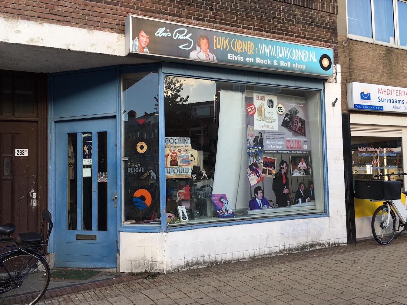 Elvis Corner Utrecht Record Shops