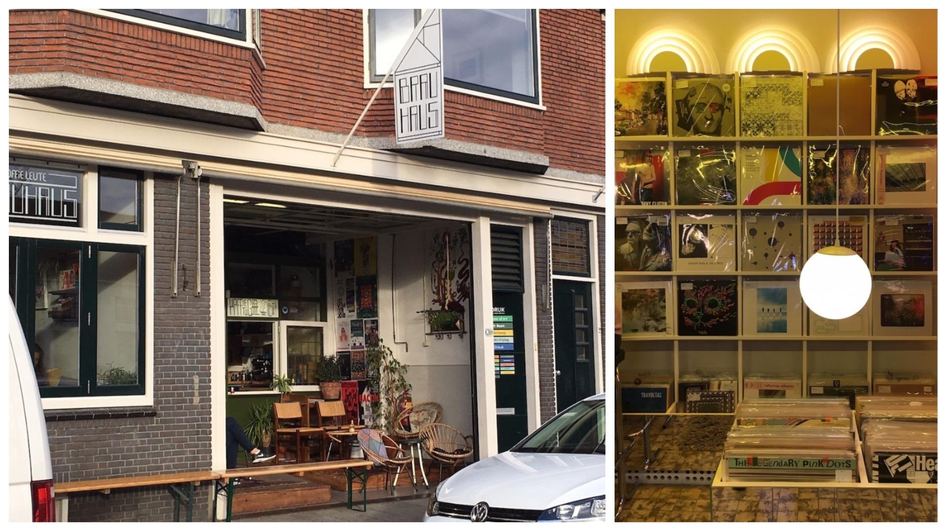 Koffie Leute Utrecht Record Shops