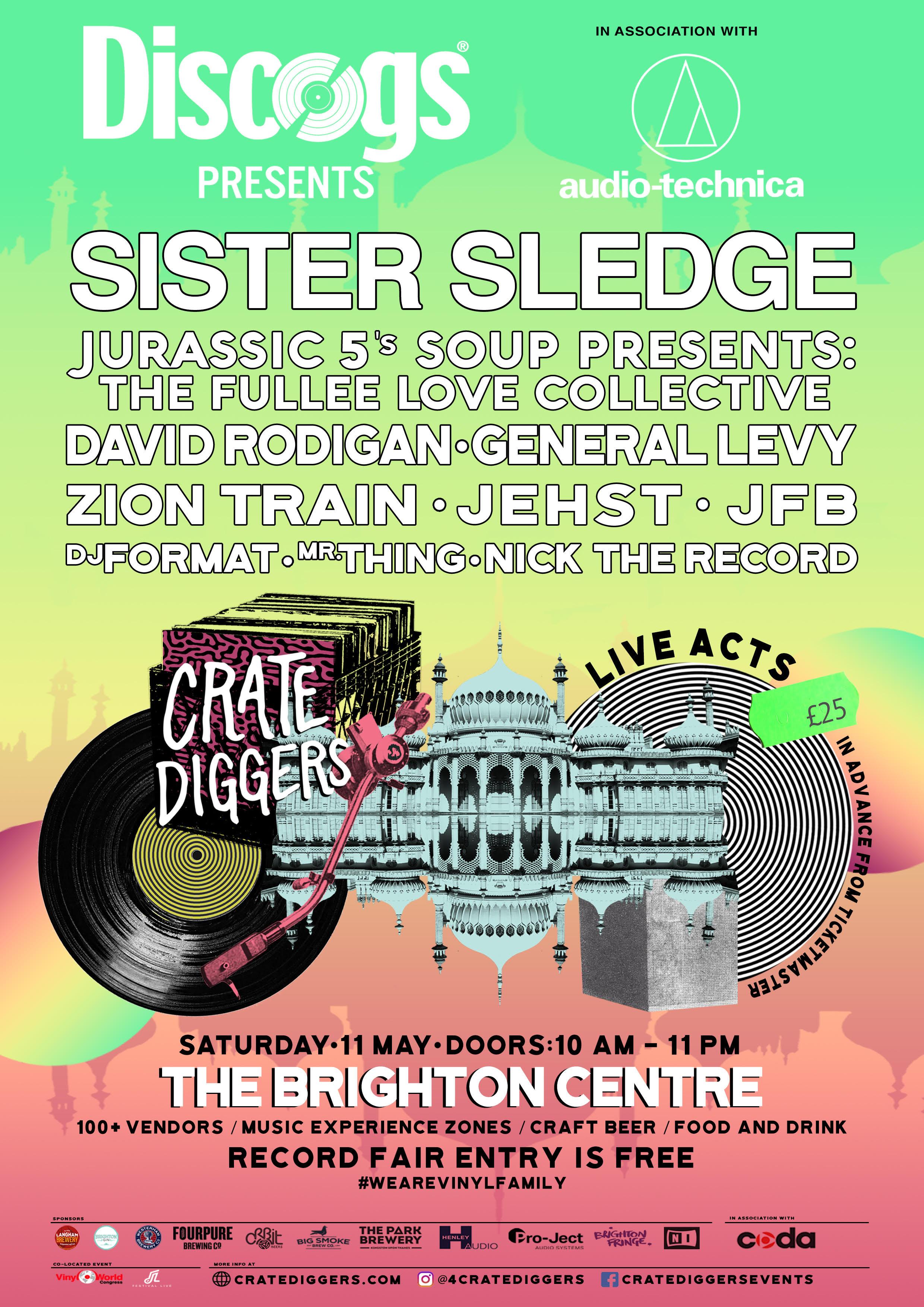 Poster Crate Diggers Brighton 2019