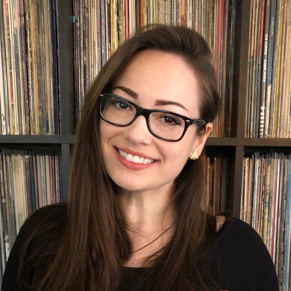 Jenn D'Eugenio, founder of women in vinyl