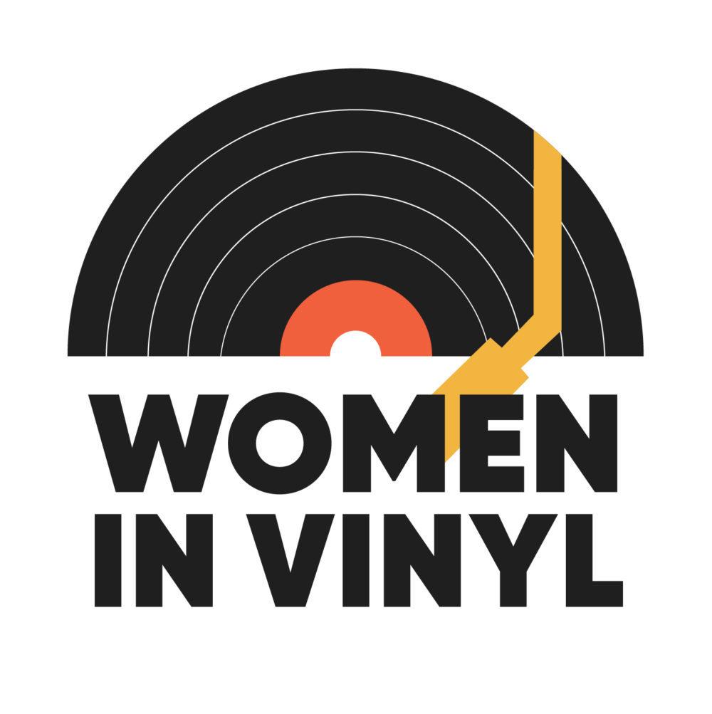 women in vinyl logo