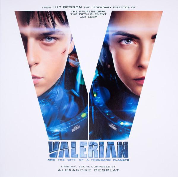 Alexandre Desplat – Valerian And The City Of A Thousand Planets (Original Score) album cover
