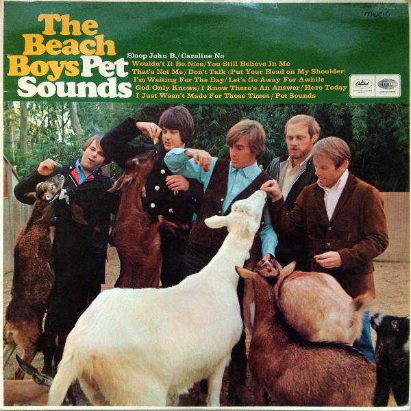 The Beach Boys - Pet Sounds album cover