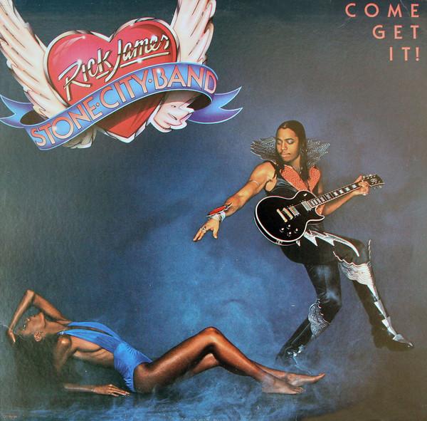 Rick James – Come Get It! album cover