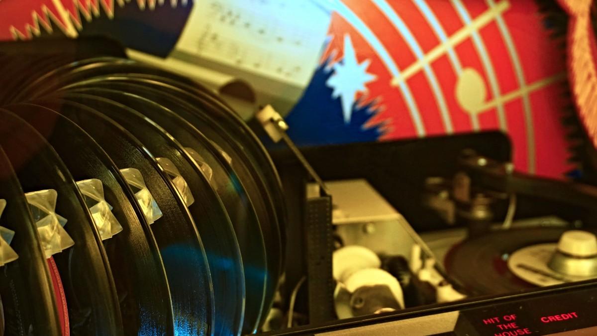 jukebox 45 album record vinyl
