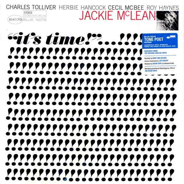 Jackie McLean – It's Time!