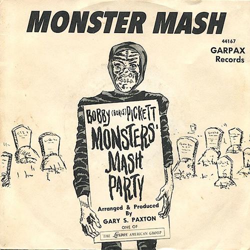 Bobby (Boris) Pickett and The Crypt-Kickers - Monster Mash album cover