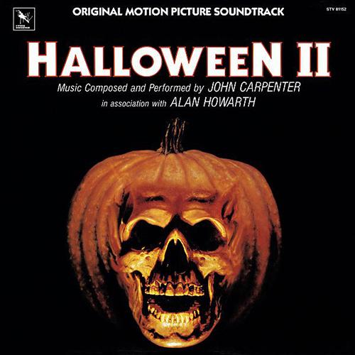 John Carpenter and Alan Howarth - Halloween II (Original Filmmusik) album cover