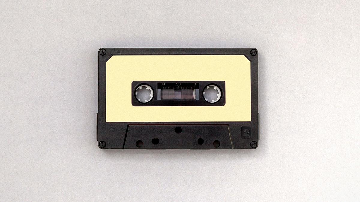 cassette tape blank