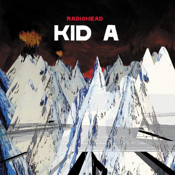 radiohead kid a album cover