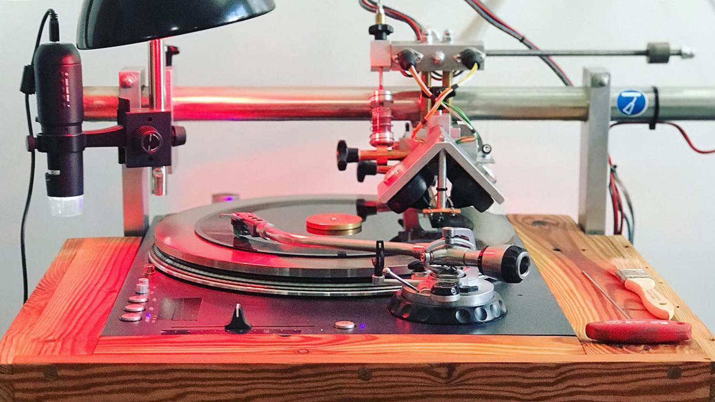 american vinyl co lathe 10 inch