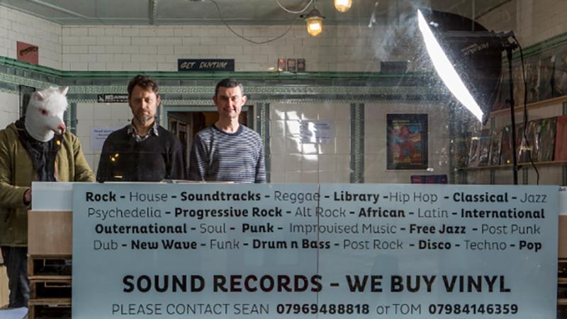 Sound Records shop