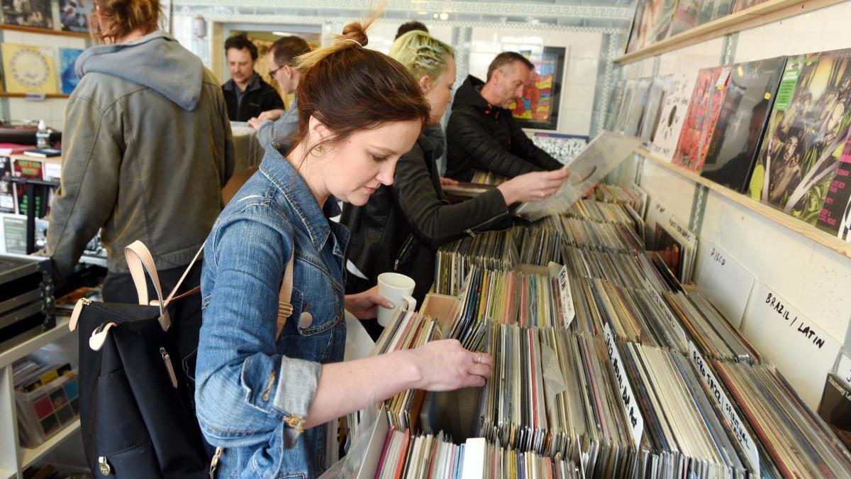 Sound Records shop interview