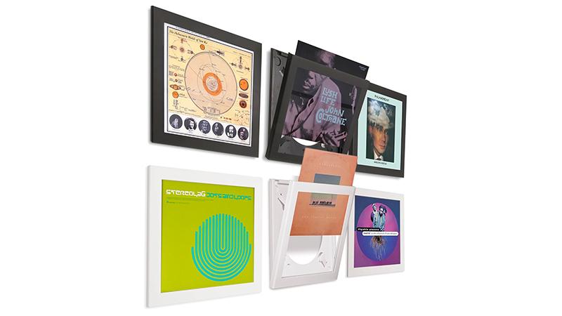 Art Vinyl Flip Record Frame