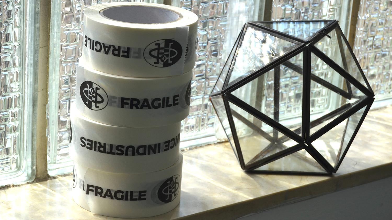Hivern Discs fragile tape